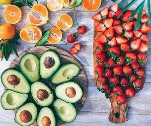 fruit, food, and avocado image