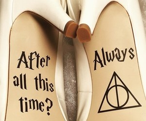 bridal, bride, and harry potter image