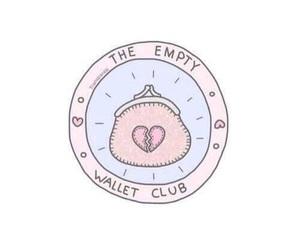 wallet, club, and empty image