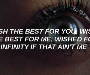 aesthetic, infinity, and Lyrics image