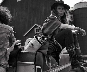 hat, western, and andreea diaconu image