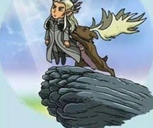 hobbit, LOTR, and thranduil image