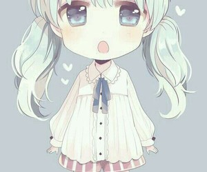anime, chibi, and kawaii image