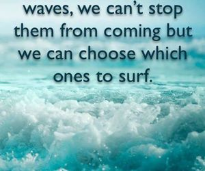 quotes, feelings, and waves image
