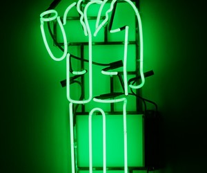 green, lime, and neon image