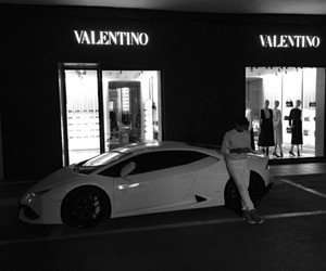 car, Valentino, and boy image