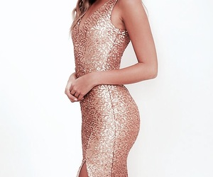 dress, goals, and gold image