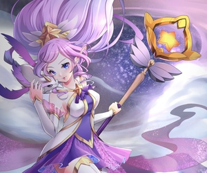 league of legends, lol, and janna image