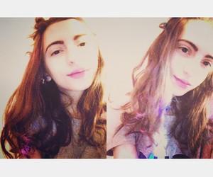 girl, me, and retrica image