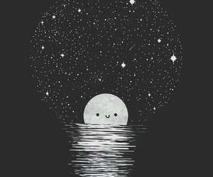 wallpaper, moon, and background image