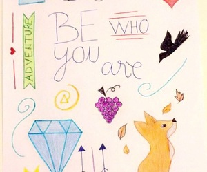 adventure, arrow, and be yourself image