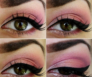 eyes, eyeshadow, and make up image