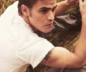 paul wesley, stefan salvatore, and the vampire diaries image