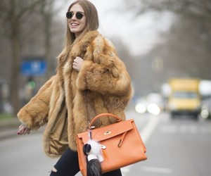 coat, luxury, and pretty image