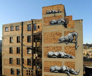 art, wall art, and street art image