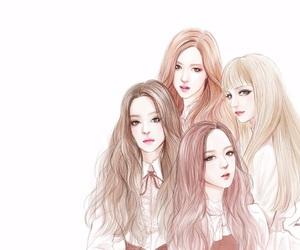 fan art, korean, and blackpink image
