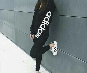 adidas, black, and sport image