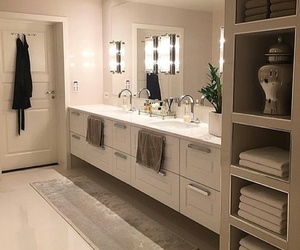 bathroom, house, and style image