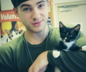 cat, cody christian, and teen wolf image