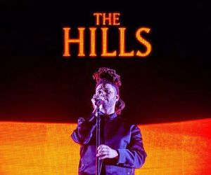 the weeknd and the hills image