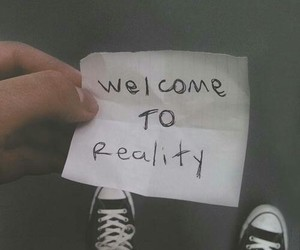 reality, grunge, and welcome image