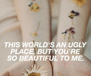 flowers, quote, and tumblr image