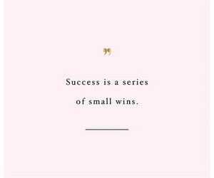 quotes, success, and pink image