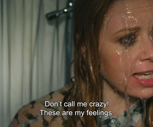 feelings, quotes, and crazy image