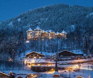 snow, winter, and gstaad image
