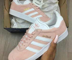 adidas, laces, and pink image
