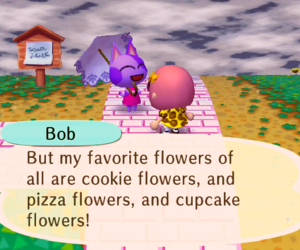 animal crossing, cookie, and cupcake image