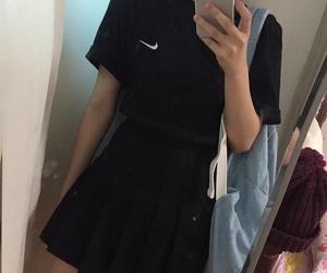 nike, american apparel, and girl image