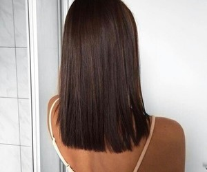 brunette and beautifulhair image