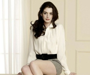Anne Hathaway, diva, and girl image