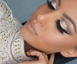 beauty, pretty, and makeup image