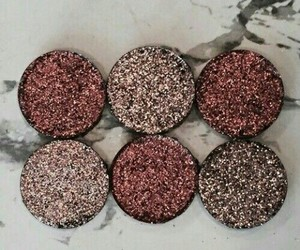 marble, eyeshadow, and sparkle image