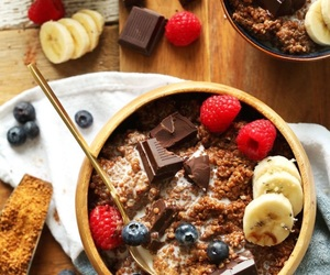 chocolate, food, and breakfast image