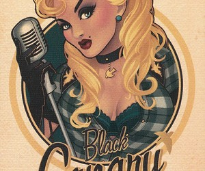 Black Canary and DC image