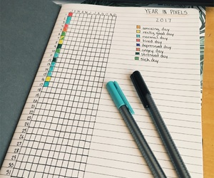 agenda, challenge, and journal image