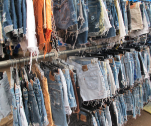 shorts, jeans, and denim image