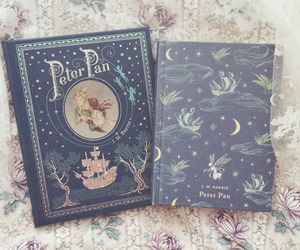 book, peter pan, and wendy image