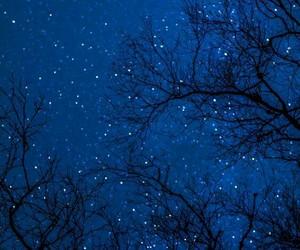 azul, blue, and night image