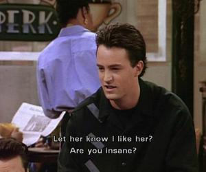 friends, quote, and chandler image