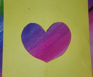 pink, love, and purple image