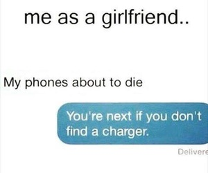 battery, boyfriend, and phone image
