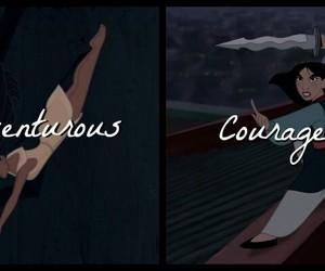 adventurous, courageous, and disney image