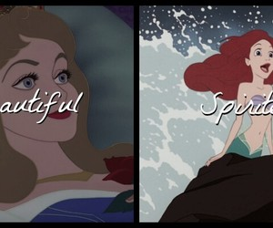 ariel, aurora, and beautiful image