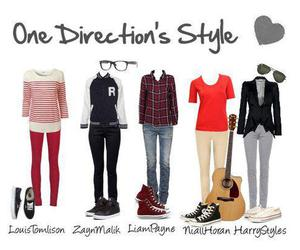 one direction, clothes, and louis image