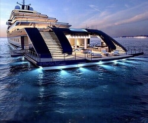 luxury, yacht, and rich image