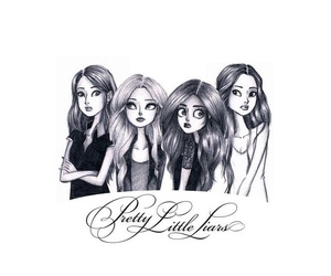 wallpaper, pretty little liars, and backgrounds image